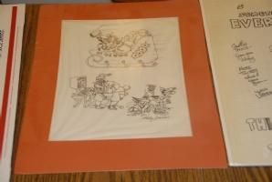 Hello Santa - Frank Kelly Freas Comic Art