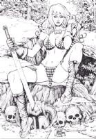 Red Sonja - mART Comic Art