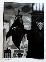 Batman in Gotham Comic Art
