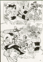 Cullins Kesel Richardson - Forever People #6 Pg 21 Comic Art