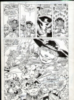 Cullins Rodier -  Forever People #1 Pg 4 Comic Art