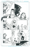 Green Lantern: New Guardians #25 pg 3 by Brad Walker & Andrew Hennessy Comic Art