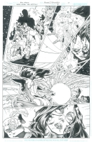 Green Lantern: New Guardians #23 pg 10 by Brad Walker & Andrew Hennessy Comic Art