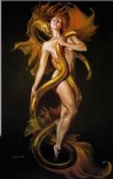 Golden Lover Comic Art