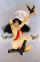 Vampirella: Night Awaits Comic Art