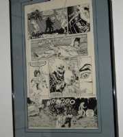 Ghost Rider #1, page 14 Comic Art