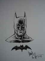 Batman by David Wachter Comic Art