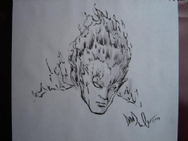 Firelord by David Wachter Comic Art