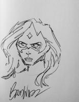 Brad Walker - Star Sapphire Comic Art