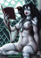 Queen Grimhilde  Snowhite's witch  (PRINT) Comic Art