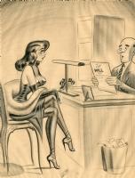 Bill Ward Humorama 1956 Illustration Comic Art