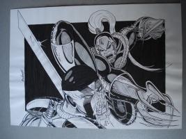 Image Wild by J.A,Rubio Comic Art
