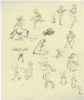 Jeff Jones -- Sketches, Comic Art