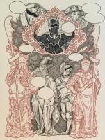 J.M. Dragunas , Comic Art