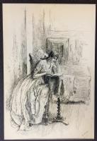 Edwin Austin Abbey -- The Noble Patron, Comic Art