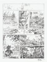 La Qu�te de l'Oiseau du Temps Comic Art