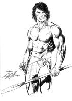 Neal Adams: This IS Tarzan! Comic Art