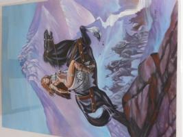 Red Sonja on Horseback Comic Art