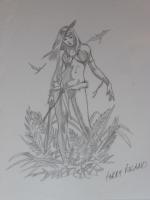 The Hunter Comic Art