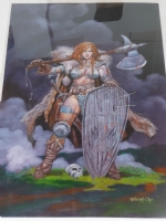Red Sonja Comic Art