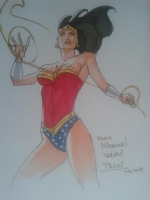 Wonder Woman-Thony Silas Comic Art