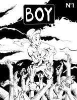 BOY #1 Cover Comic Art