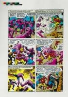 Avengers #5 page 12 Production Art Comic Art