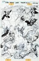 X-Men trading Cards Series I - Danger Room Cards #91-99 Comic Art