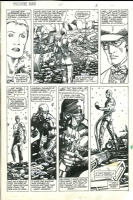 BWS - Machine Man 4p03, Comic Art