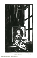 Mike Mignola - McSweeney Book Plate, Comic Art
