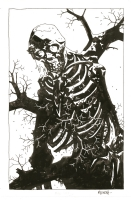 Mike Mignola - Bones of Giants Book Plate, Comic Art