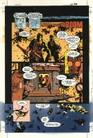 Mignola - Ironwolf 1p27 clr2 Comic Art