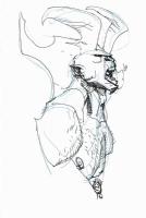 Eric Canete - Hellboy commission, Comic Art