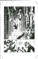 Mike Mignola - Hellboy 19 Conqueror Worm 3p13, Comic Art