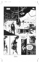 Mike Mignola - Hellboy 18 Conqueror Worm 2p12, Comic Art