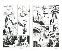 Mike Mignola - Hellboy 13 Almost Colossus 2p1516, Comic Art