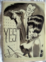 Bill Ward-Yes!-bigger pic Comic Art