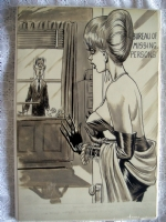 Bill Ward-Found At Missing Persons Bureau-bigger pic Comic Art
