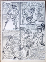 Bill Ward-Sizzle_p4-Club-NUDITY Comic Art