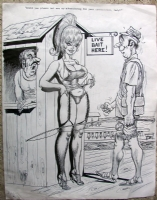 Bill Ward-My bait or yours? Comic Art