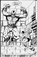 Marvel Comics Presents 114 p16 Comic Art