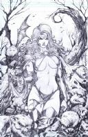 Goblin Queen Comic Art