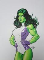 Scott Dalrymple - She-Hulk Comic Art