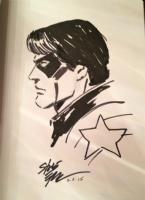 Steve epting winder soldier Comic Art