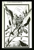 Marvel Fanfare splash Black Knight Todd Smith & Chris Ivy Comic Art