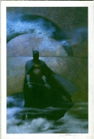 Scott Hampton Batman Annual 15 cover Comic Art
