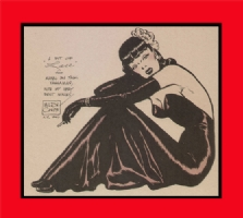 Milton CANIFF - PIN-UP Comic Art