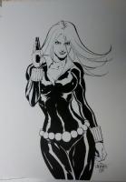 Black Widow Comic Art
