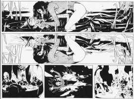 Ryan Sook Zatanna #4 pages 14 & 15 Comic Art