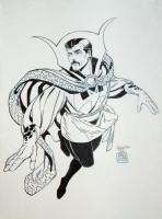 Dr Strange Sketch Inked Comic Art